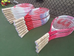 Racquets for camps