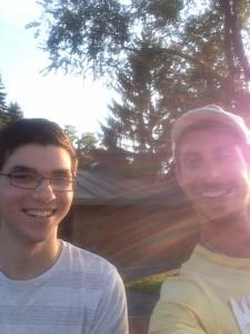Sean and Max