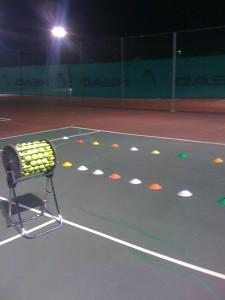 Tennis Lesson August