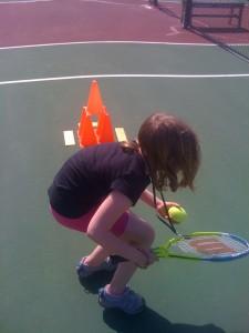 Tennis lesson 2